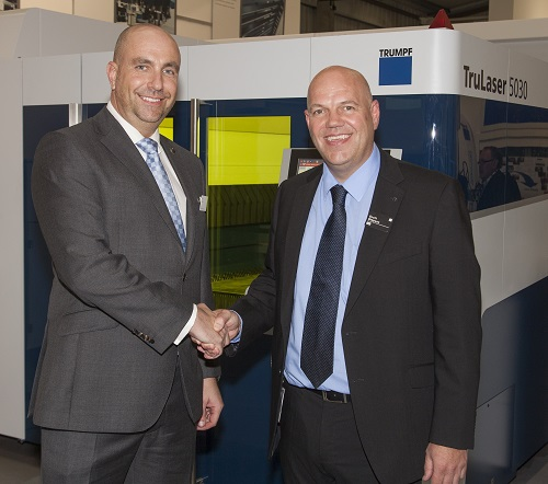 Tim Leam - Director at Lasershape and Scott Simpson - Managing Director at TRUMPF UK